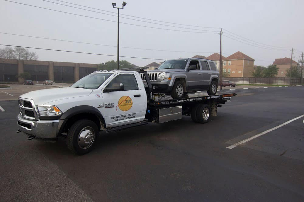 360 Towing Solutions in Sugar Land