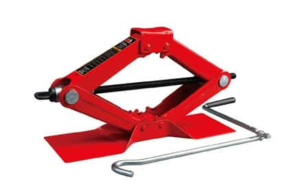Torin Big Red Steel Scissor Jack, 1.5 Ton (3,000 lb) Capacity (T10152)