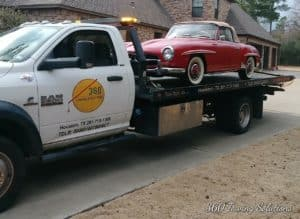 Professional, instant exotic car towing service