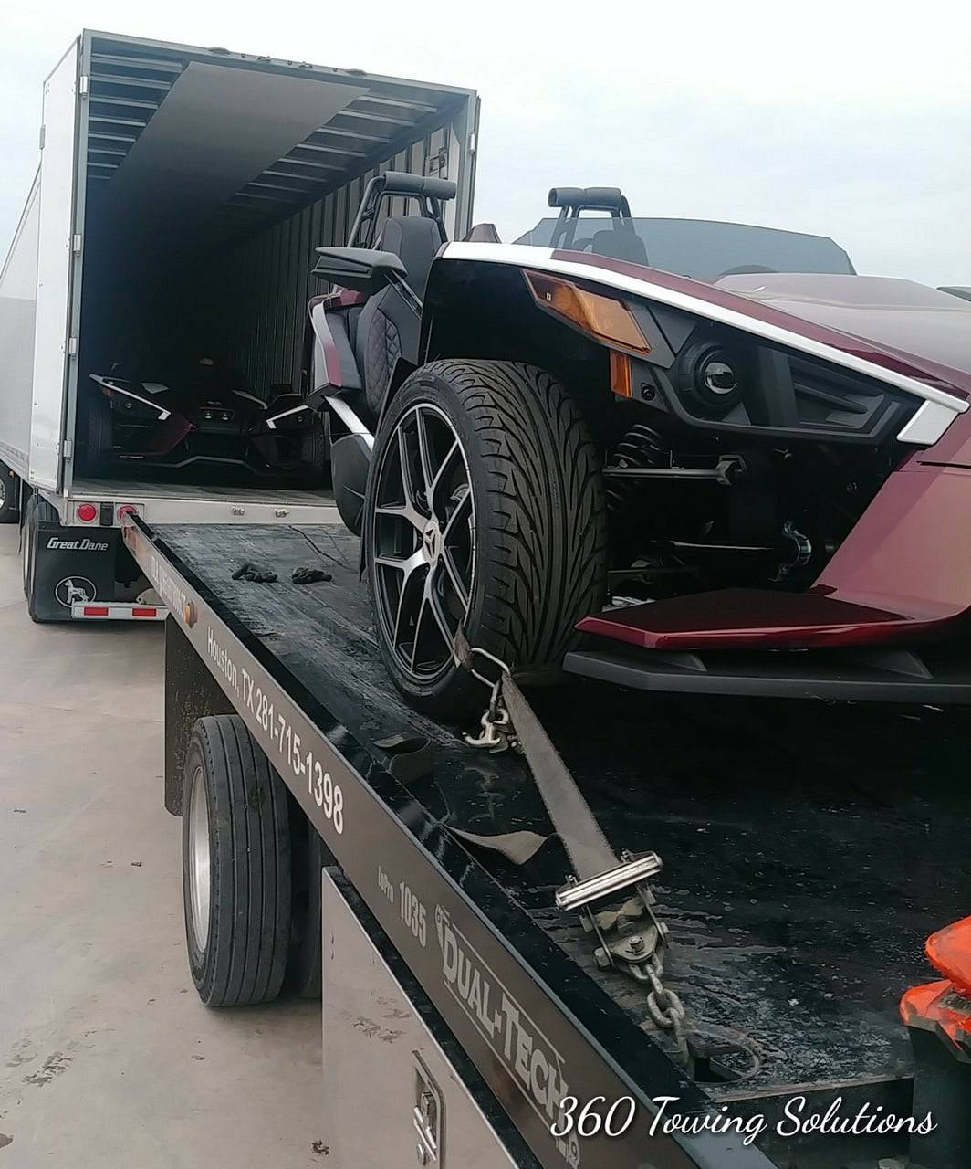 Safe Transport of Exotic Vehicles in Dallas