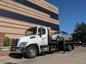 Light Duty Towing in Dallas
