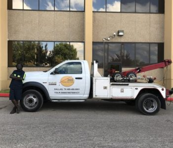 Accident Recovery Towing in Dallas TX