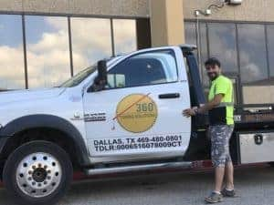 Accident Recovery Towing Dallas TX