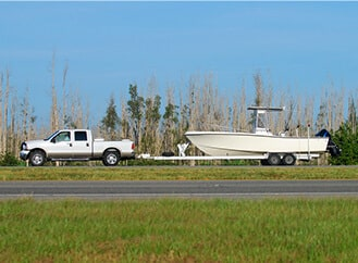 Boat Trailer Towing